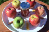 Gelée de cidre de pomme au caramel