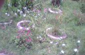 Sauver les pneus et faire un jardin !
