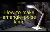 Comment faire un en bois, USB alimenté, lampe LED angle-poise