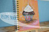 Comment faire un livre de recette peint main