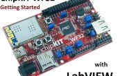 Mise en route de la ChipKIT WF32 (LabVIEW)