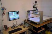 Machine CNC avec caméra et rétro-éclairage LED