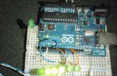 Fader de Arduino aléatoire de LED.