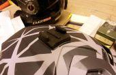 Modification de montage GoPro pour casques en forme irrégulières Fox, Fly et autres.