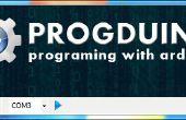 Jouer des sons sur pc avec arduino et progduino