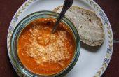 Soupe de tomate Pecorino