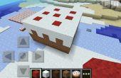 Gâteau géant Minecraft
