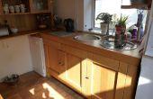 Comment j'ai conçu et construit ma cuisine en chêne sur mesure sur un Budget serré