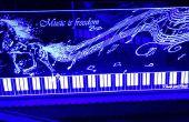 LED allumée en acrylique de signe