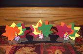Thanksgiving artisanat : Thanksgiving Place porte-cartes