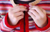 Faire un Cardigan de Childs de chandail de laine feutrée recyclé !