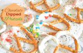 Comment faire des bretzels chocolat plongé - cadeaux de Dernière Minute comestibles
