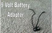 Comment faire un adaptateur de batterie de 9 volts