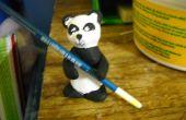 Baguettes de Clay Panda ou spoonholder