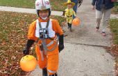 Costume de X-Wing Pilot (V rouge) Kid