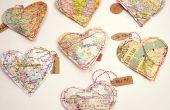 Sacs de festin de Saint-Valentin carte coeur