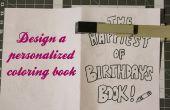 Conception d'un livre de coloriage