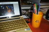 Monter un porte-stylo de cire