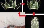 Lampe mobile : fleur de lotus