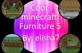 Cool 5 meubles Minecraft