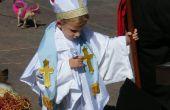 Costume de pape facile (éventuellement sans coudre!)
