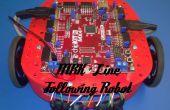 Ligne suivante MRK Robot avec pièces imprimées en 3d
