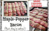 Érable-poivre trompeuses Bacon (cookies!)