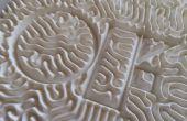3D imprimés réaction Diffusion modèles