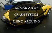 RC voiture anti-blocage système utilisant Arduino