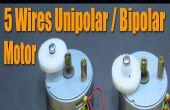Stepper Motor Basics - 5 Câbles unipolaires / bipolaires moteur