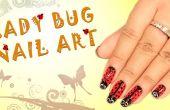 Comment faire Lady Bug Nail Art
