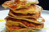 Le petit déjeuner sans Gluten 10 minutes : sain moelleux sans farine crêpes