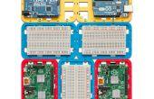 3D imprimés modulaire Support (cas) pour Arduino et framboise Pi - CustoBlocks