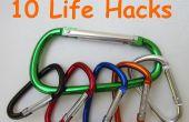10 vie Hacks avec mousquetons