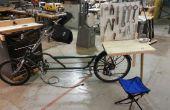 Station de réparation de vélo portable