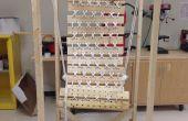 Suspendue en bois chaise