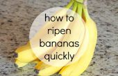 Comment faire mûrir les bananes rapidement
