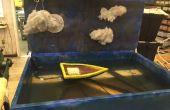 Université de Cincinnati CCM - eau pneumatique Diorama