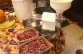 Bonbons maison framboise gelée édulcorée au miel !