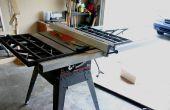 Rénovation A Delta T2 clôture à un banc de scie Craftsman