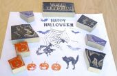 Halloween jeu de timbres