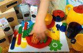 Vous personnalisez un jeu d'enfant-alimentation
