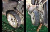 Rechaper vos pneus tondeuse à gazon