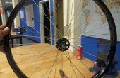 @TechShop Menlo Park : construction d'une roue de bicyclette