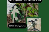 Cacher loin Emergency Kit ; Mountain Bike Application inclus