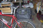 Sac de porte-bagages arrière vélo papillon
