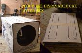 Poopy-le chat jetable litière box