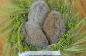Quand des lapins pondent | Pâques américain (Art décoratif)