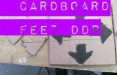 Pieds en carton DDR