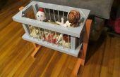 Vieux lit pour poupées & stuffies